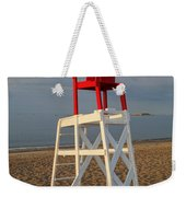 Devereux Beach Lifeguard Chair Marblehead Ma Weekender Tote Bag