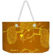 Device For Protecting Animal Ears Patent Drawing 1c Weekender Tote Bag