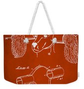 Device For Protecting Animal Ears Patent Drawing 1h Weekender Tote Bag