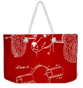 Device For Protecting Animal Ears Patent Drawing 1k Weekender Tote Bag