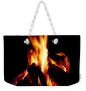 Devil Fire Weekender Tote Bag
