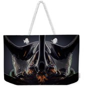 Devil Horn Focus Stack Weekender Tote Bag