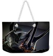 Devil Horns Macro Weekender Tote Bag