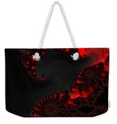 Devil Light   A Fractal Abstract Weekender Tote Bag