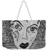 Devil Print Two Out Of Five  Weekender Tote Bag