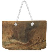 Devil's Bridge, Saint Gotthard's Pass Weekender Tote Bag