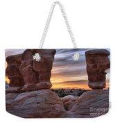 Devils Garden Sunset Weekender Tote Bag