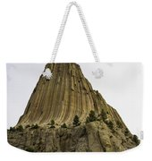 Devils Tower 6 Weekender Tote Bag