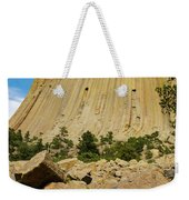 Devils Tower Four Weekender Tote Bag