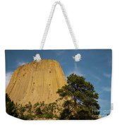 Devils Tower One Weekender Tote Bag