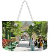 Devotees In Rishikesh India Weekender Tote Bag