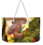 Dew Drop Mushrooms Weekender Tote Bag