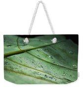 Dew Droplets Of Nature Weekender Tote Bag