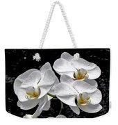 Dew-kissed Cascading Orchids Weekender Tote Bag