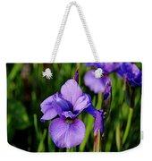 Dew Kissed Iris Weekender Tote Bag