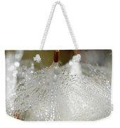 Dew On Milkeed Weekender Tote Bag