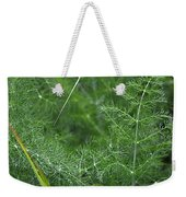 Dew On The Ferns Weekender Tote Bag