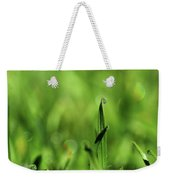 Dew On The Grass Weekender Tote Bag
