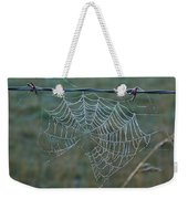 Dew On The Web Weekender Tote Bag