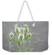 Dew On Thistles 3 Weekender Tote Bag