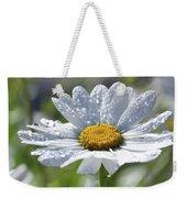 Dewdrop Daisy Weekender Tote Bag