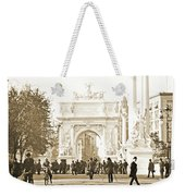 Dewey's Arch Monument, Madison Square, New York, 1900 Weekender Tote Bag