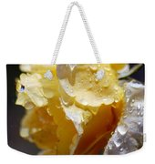Dewy Yellow Rose 2 Weekender Tote Bag