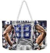 Dez Bryant Cowboys Art 2 Weekender Tote Bag