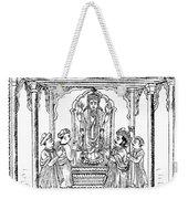 Dhanvantari, God Of Ayurvedic Medicine Weekender Tote Bag