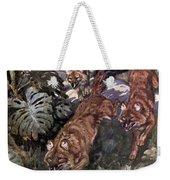 Dhole, Endangered Species Weekender Tote Bag