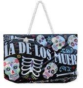 Dia De Los Muertos Banner  Weekender Tote Bag