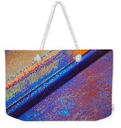 Diagonal Weekender Tote Bag