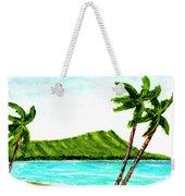 Diamond Head And Waikiki Beach #351 Weekender Tote Bag