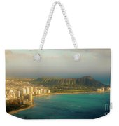 Diamond Head Crater - Waikiki Afternoon Weekender Tote Bag