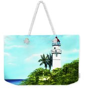 Diamond Head Lighthouse #10 Weekender Tote Bag