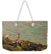 Diamond Head Lighthouse Weekender Tote Bag