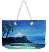 Diamond Head Moonscape #371 Weekender Tote Bag