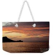 Diamond Head Sunrise Weekender Tote Bag