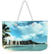 Diamond Head Weekender Tote Bag