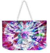 Diamond Heart Weekender Tote Bag