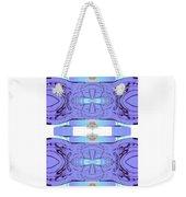 Diamonds Lilac Weekender Tote Bag