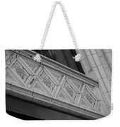 Diamond Patterns In Black And White Weekender Tote Bag