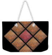 Diamond Red Weekender Tote Bag