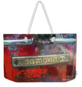 Diamond T Weekender Tote Bag