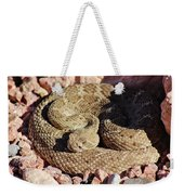Diamondback Rattlesnake 062414f Weekender Tote Bag