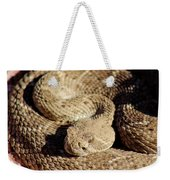 Diamondback Rattlesnake Close-up 062414a Weekender Tote Bag
