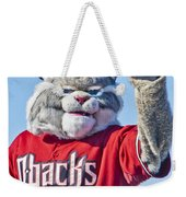 Diamondbacks Mascot Baxter Weekender Tote Bag