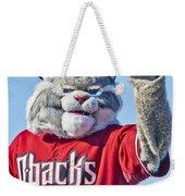 Diamondbacks Mascot Baxter Weekender Tote Bag