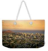 Diamondhead -- Jewel Of Oahu Weekender Tote Bag