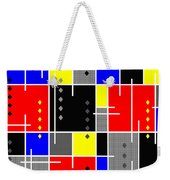 Diamonds And De Stijl Weekender Tote Bag by Tara Hutton